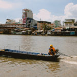River in Ho Chi Minh City, June 29