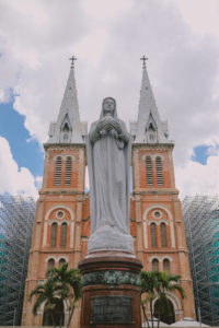 Notre Dame Cathedral in Ho Chi Minh City, July 3